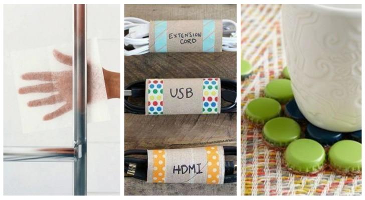 Niente sprechi inutili: prima di buttare via gli oggetti consumati o rotti, pensa a come potresti riciclarli