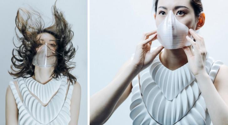 Amphibio: futuristische künstliche Kiemen, mit denen Menschen unter Wasser atmen können