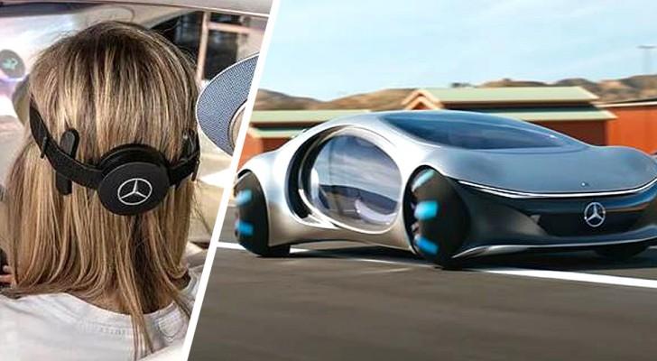 Mercedes presenteert de eerste auto die wordt bestuurd met het brein van de bestuurder