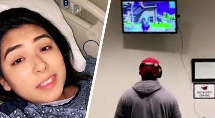 La fidanzata è in ospedale durante il travaglio: lui si porta l'Xbox e gioca per ingannare il tempo