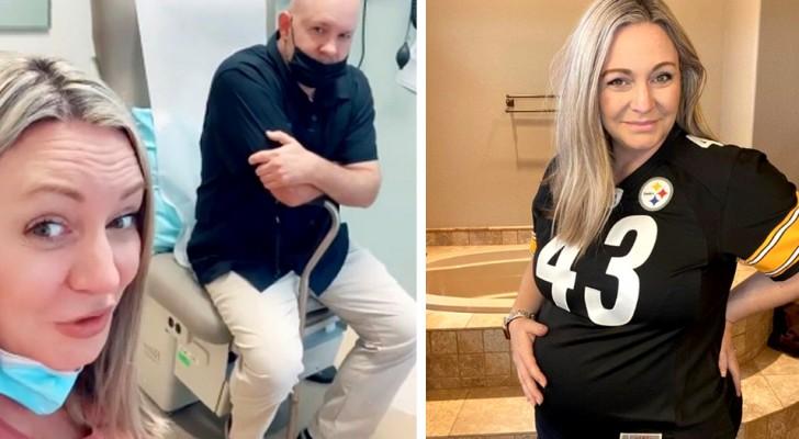 Ela engravida aos 62 anos, apesar da menopausa e de um marido estéril: