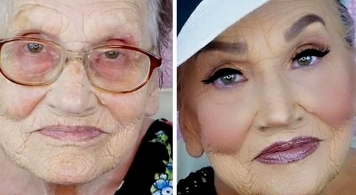 A magia da maquiagem: 15 pessoas que optaram por mudar totalmente sua aparência com a ajuda da maquiagem
