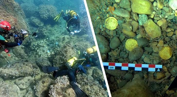 Spanien: Zwei Taucher finden bei einem Tauchgang einen spektakulären römischen Schatz