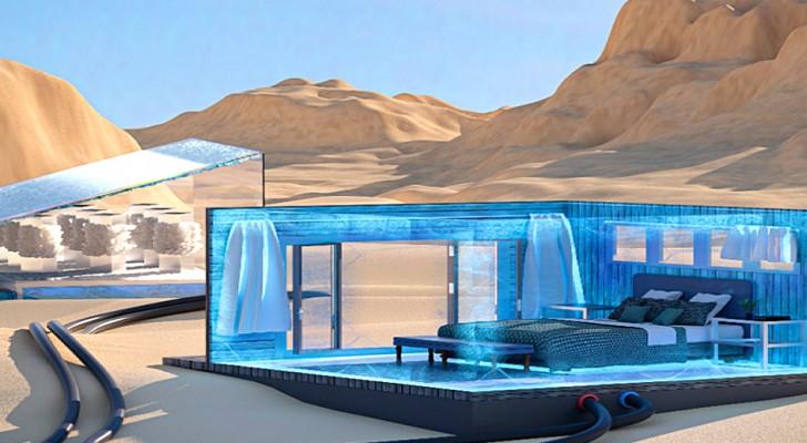 Ce nouveau système de refroidissement utilise la lumière du soleil et l'eau salée
