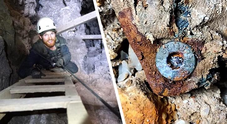 Junge findet eine 100 Jahre alte Levi's-Jeans: Sie lag in einer verlassenen Mine