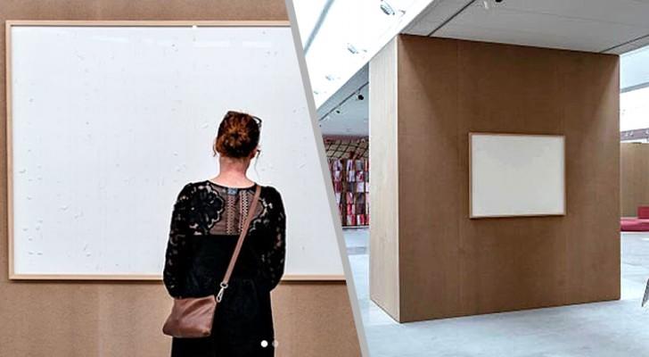 Artista incassa 72.000€ per un'opera, ma presenta al museo delle tele bianche e scappa