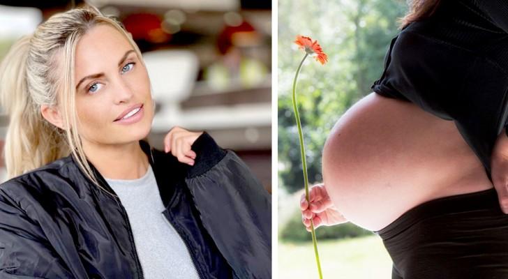 Hon spenderar 4 100 £ på att göra sig snygg inför förlossningen: