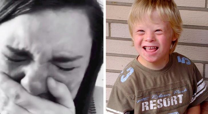 En desperat mamma: På min sons födelsedag, som har Downs syndrom kom bara en person