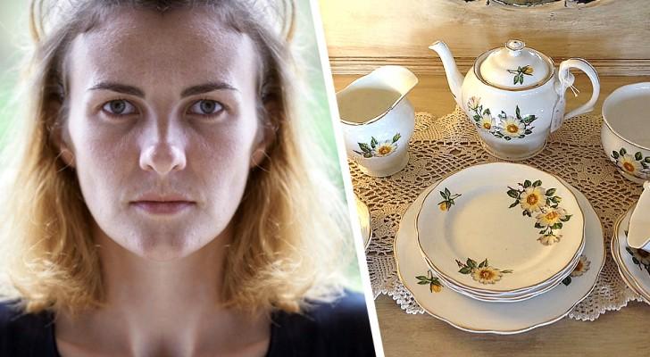 Il vend le service à thé de sa femme à son insu : elle se venge et le rachète