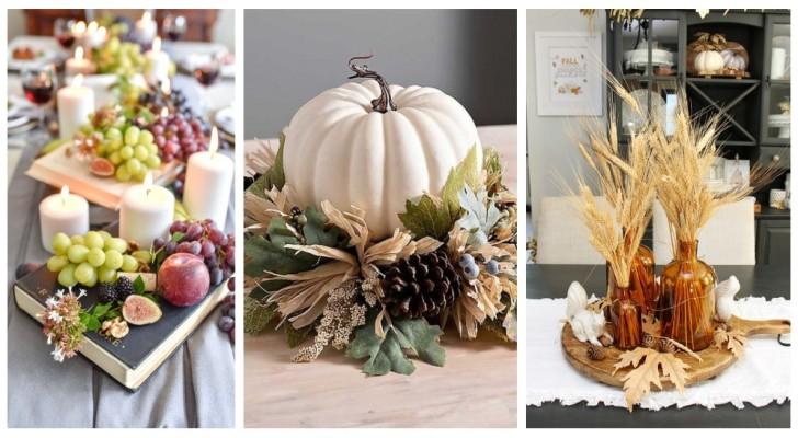 Amenez sur vos tables la beauté de l'automne avec des compositions pleines de couleurs