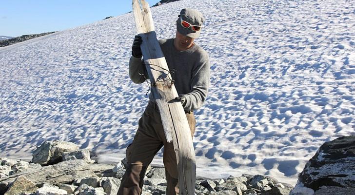 Un ski préhistorique découvert en Norvège : il a 1300 ans et est parfaitement conservé