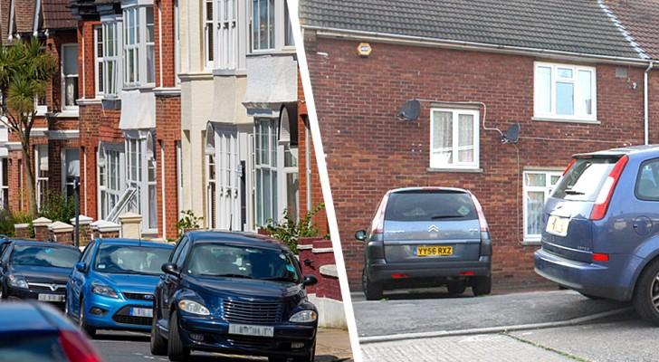 Hij parkeert per ongeluk op een privé-oprit: de eigenaren blokkeren de auto en vragen om geld om hem terug te geven
