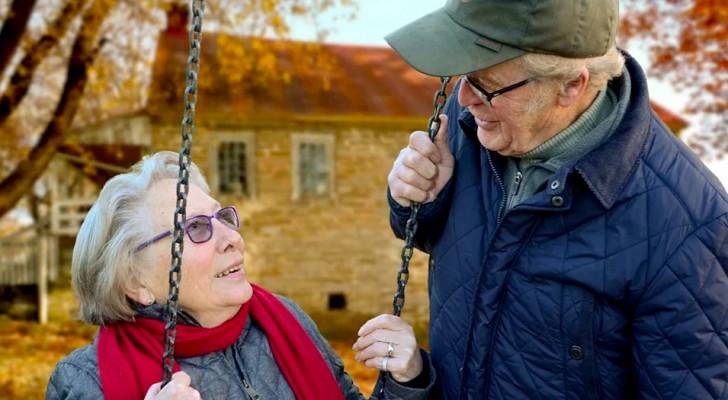 Vid 86-års ålder blir hon förälskad i mannen hon lärt känna 40 år tidigare: