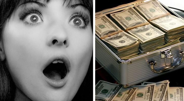 En bank gör en överföring på en miljard dollar på en äldre kvinnas bankkonto utan att hon vet om det