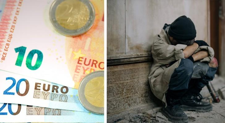 Sconosciuto lascia un biglietto e 10 euro fuori dal bar in cui aveva rubato:
