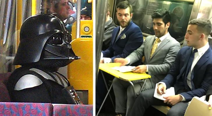 Vita sulla metropolitana: 16 scene di ordinaria follia che le persone hanno dovuto immortalare