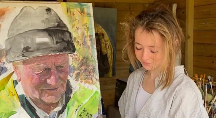 Ha iniziato a dipingere durante il lockdown: oggi espone le sue opere in galleria e ha venduto una tela per £10.000