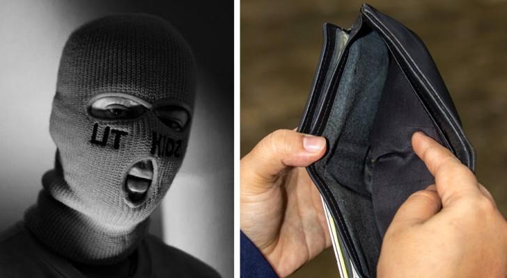 Ladro amareggiato non trova in casa abbastanza soldi da rubare e lascia una nota: Perché vi chiudete a chiave?