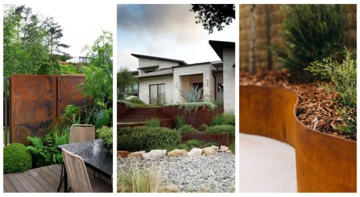 Acciaio Corten in giardino: scopri di più su un materiale eterno che arreda in modo affascinante