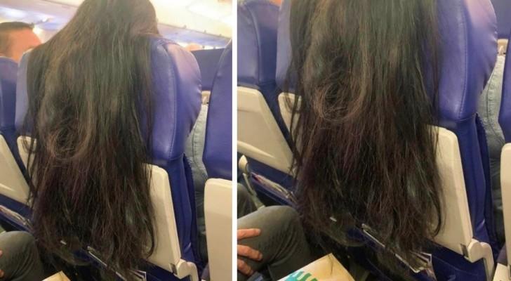 Une femme dans un avion agace les passagers par son