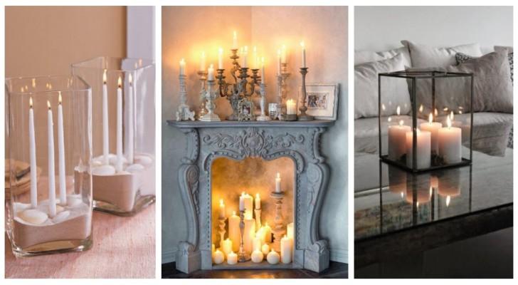 Candele per decorare ogni stanza: usale per arredare in modo intimo ed elegante la casa