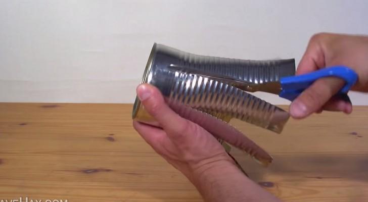 Como fazer uma churrasqueira com uma latinha!