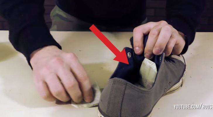 Hij plaatst theezakjes in een oude schoen: deze 8 trucs zijn onmisbaar!