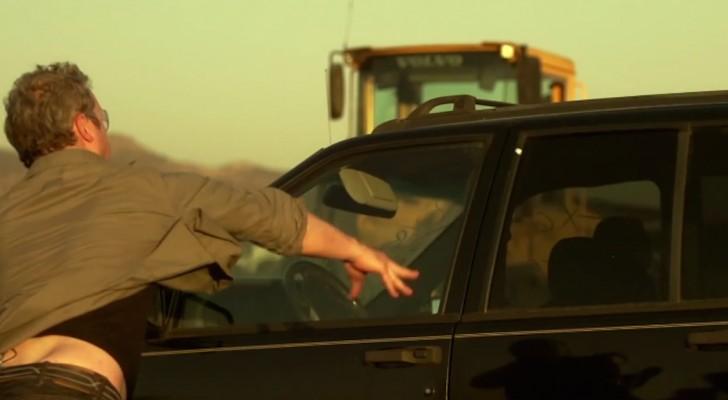 So schlägt man das Fenster eines Autos im NOTFALL ein. Wusstet ihr das?