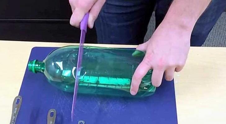 Tagliando una bottiglia vi mostra il rimedio più SEMPLICE per eliminare le zanzare
