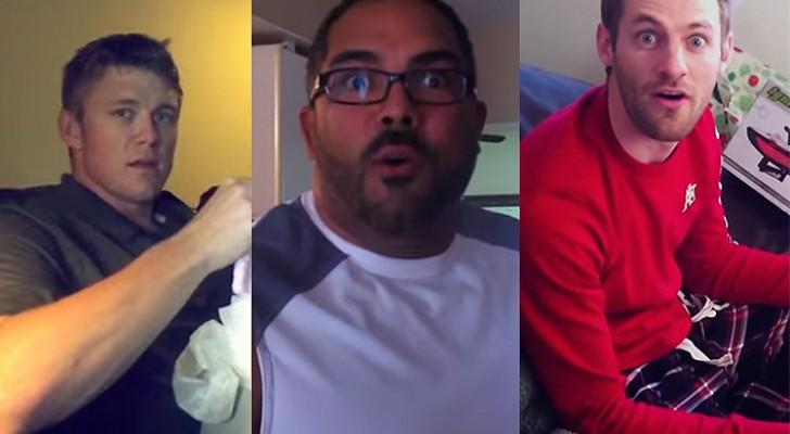 La loro compagna è incinta: le reazioni di questi uomini vi regaleranno un'emozione
