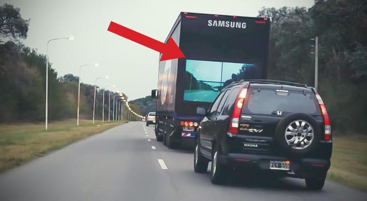 Deze vrachtwagen is uniek in zijn soort: REVOLUTIONAIR op het gebied van verkeersveiligheid!