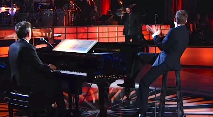 Michael Bublé viene interrotto a metà canzone, ma il vero spettacolo arriva poco dopo!