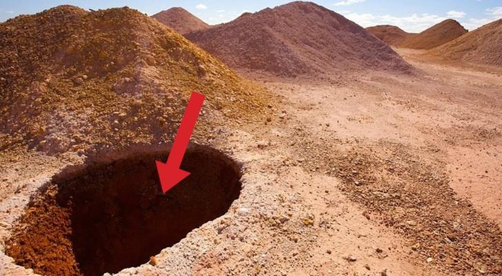 Questa zona dell'Australia è piena di buchi nel suolo: quando capirete perché resterete allibiti