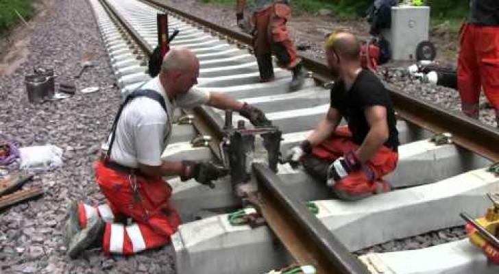 Come riparare una ferrovia