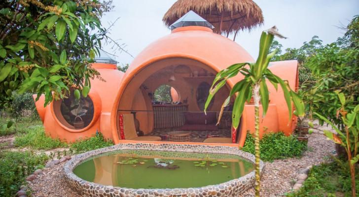 Essa é a casa dos sonhos construída na Tailândia ... com menos de 30.000 reais!
