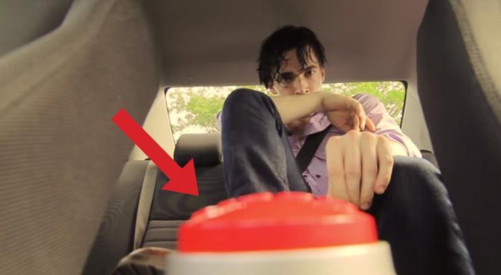 Dit is wat er gebeurt als volwassen een paar minuten in een auto in de zon worden opgesloten...