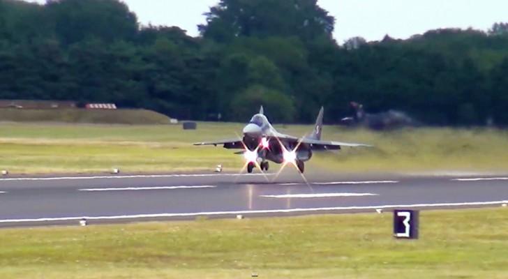 Probablemente habran visto despegar muchos aviones, pero ESTO lo hace de manera espectacular