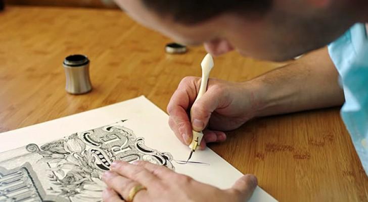 Ci sono circa 12 persone al mondo che sanno praticare questa arte. E lui è il più giovane.