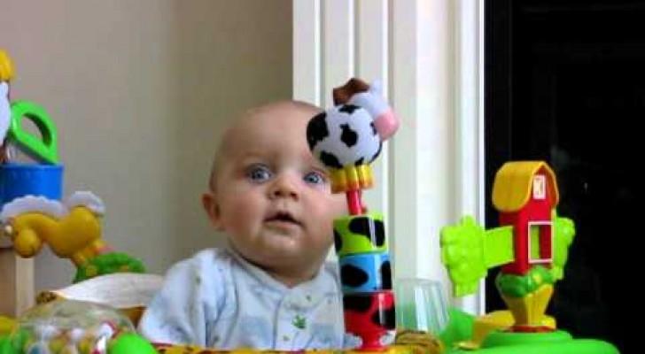 Enfant terrifié ou heureux?