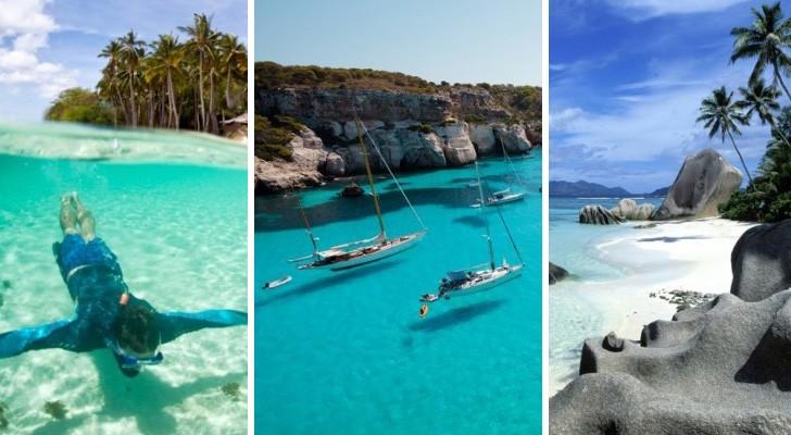 Ecco le 18 spiagge con l'acqua più limpida del mondo: preparatevi a sognare ad occhi aperti