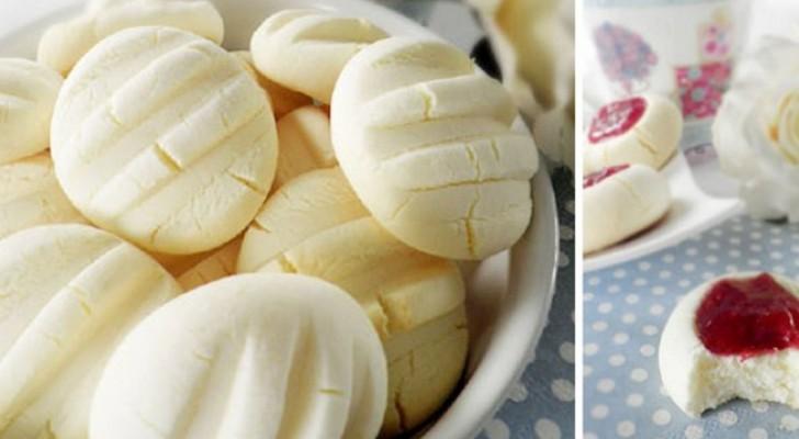 Moins d'une demi-heure de préparation pour ces biscuits moelleux et délicats