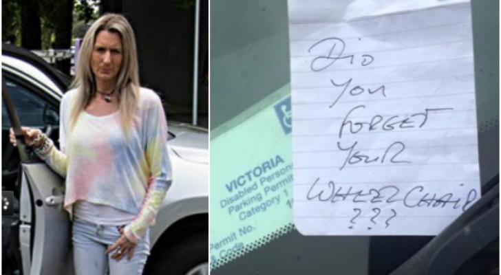 Eine Frau findet eine beleidigende Notiz an der Windschutzscheibe: Ihre Antwort ging um die Welt