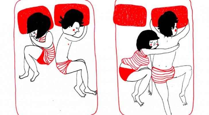 Queste simpatiche vignette vi mostrano che il vero amore si vede dalle piccole cose