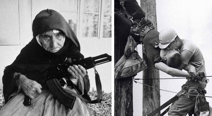 15 krachtige en memorabele foto's die historische momenten weergeven