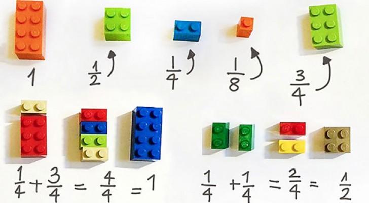 Questo metodo eccellente insegna la matematica usando i LEGO... E funziona!