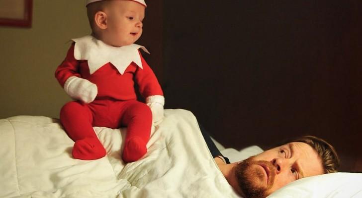Trasforma suo figlio di 4 mesi in un adorabile elfo che gli renderà la vita impossibile