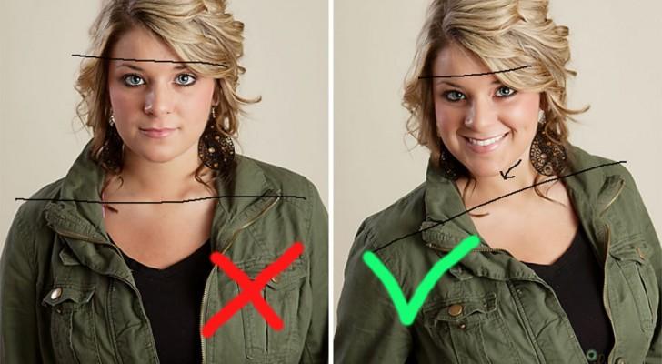 6 kleine trucs waarmee ook niet-fotogenieke mensen goed voor de dag komen op een foto: het resultaat is verbijsterend!