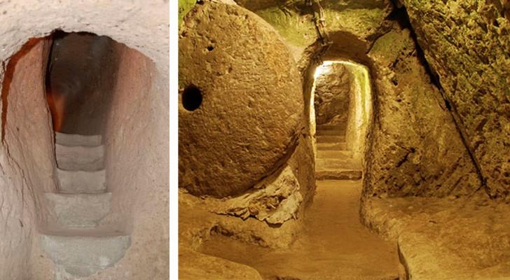 Abbatte un muro per ristrutturare casa e scopre una città sotterranea di 3500 anni