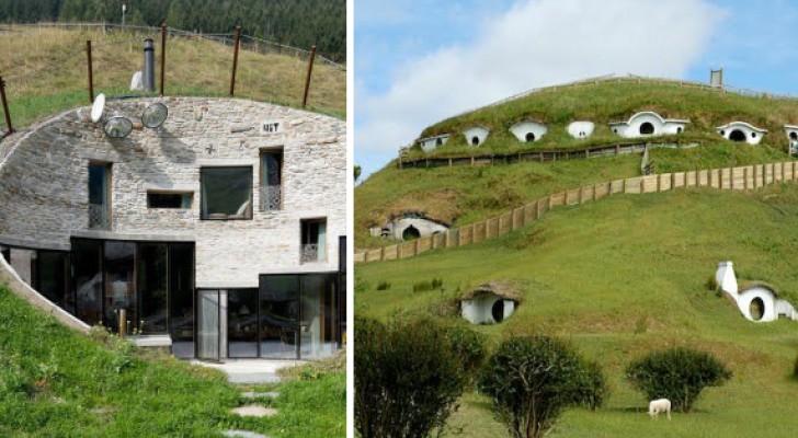 Se vivere sotto terra vi sembra una follia, queste bellissime case vi faranno cambiare idea