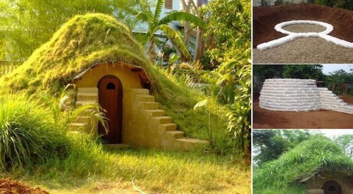 Hier zie je hoe je een hobbit huis kunt maken in je eigen tuin met slechts 270 euro - Hoe je je desktop kunt verfraaien ...